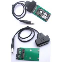 Micro SATA docking til USB