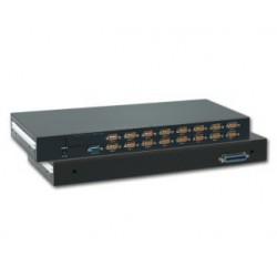 8 ports KVM omskifter til...