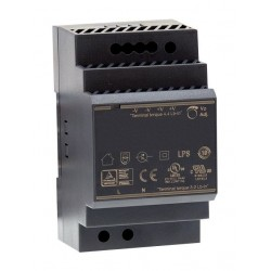 24VDC 60W strømforsyning...