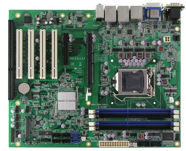 Bundkort / CPU-kort / Back-plane / Køler
