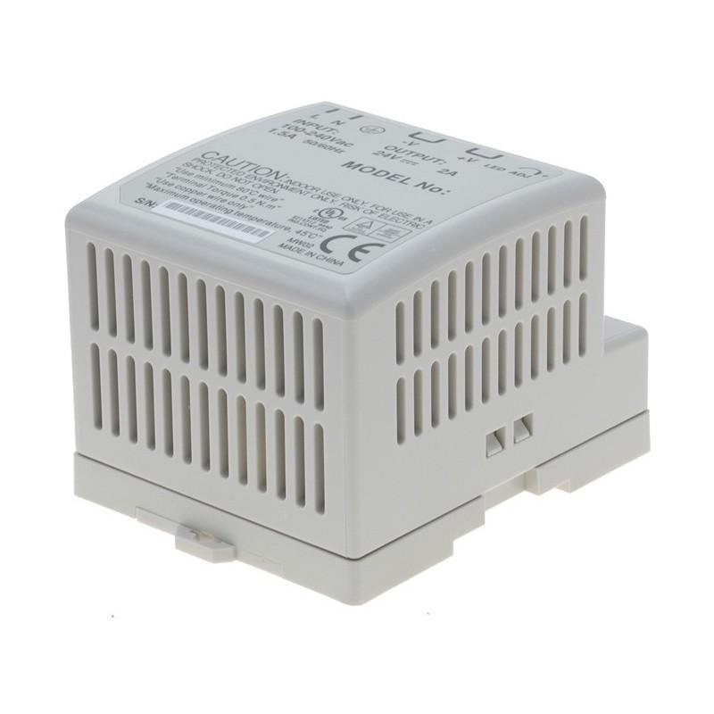 5-12V AC/DC strømforsyning